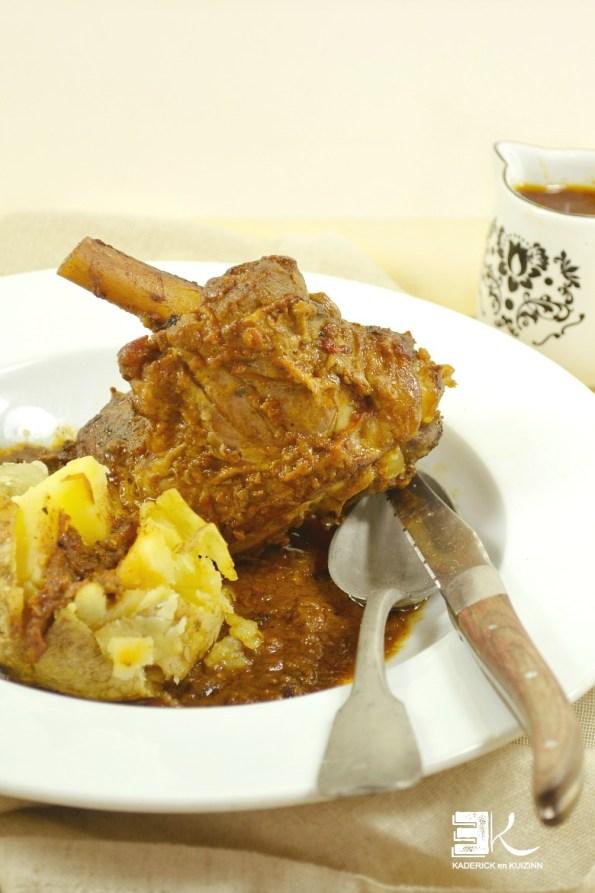 Pâques recette souris agneau braisée vin rouge épicé sur Kaderick en Kuizinn