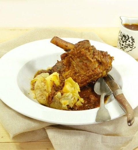Paques recette souris agneau braisée vin rouge sur Kaderick en Kuizinn