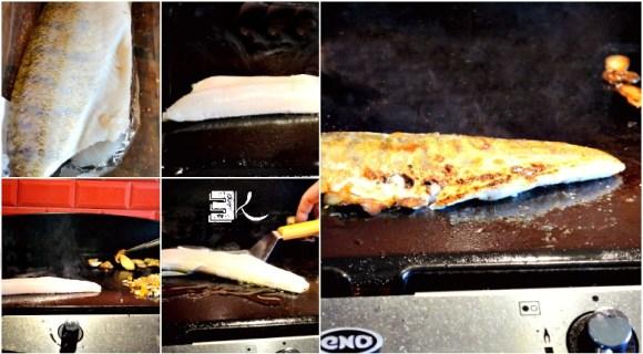 Cuisson plancha grillé filet de sandre chair moelleuse - Kaderick