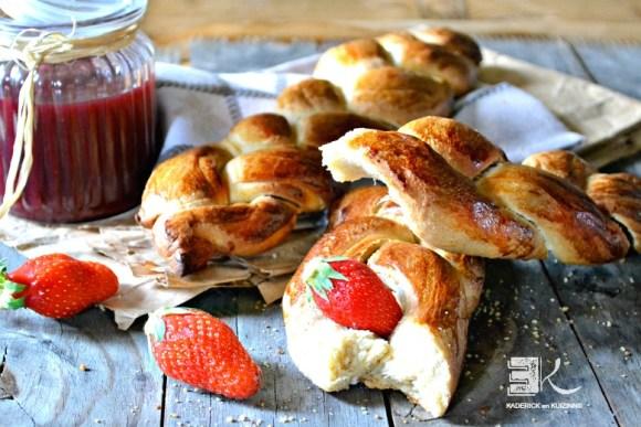 Pain au beurre façon brioche petit déjeuner - Kaderick en Kuizinn