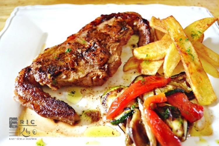 Plancha côte d'agneau double épicée cuite à la plancha - Kaderick en Kuizinn