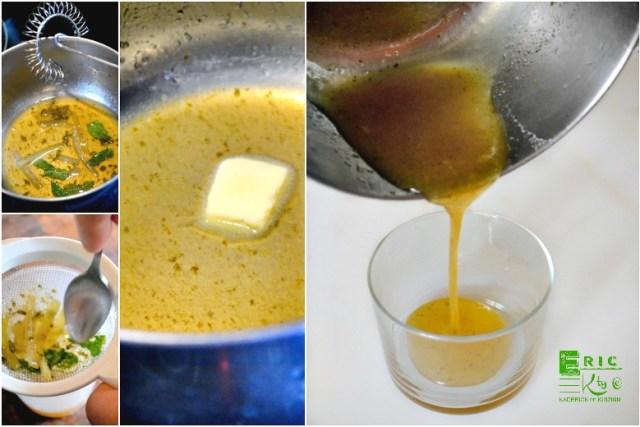 Mojito - Cuisson sauce mojito citron vert menthe rhum - Kaderick en Kuizinn