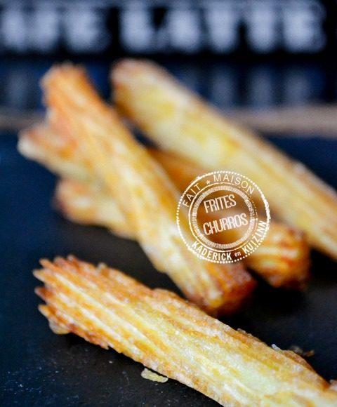 Image a la une - Frites striees facon churros comme au bistrot