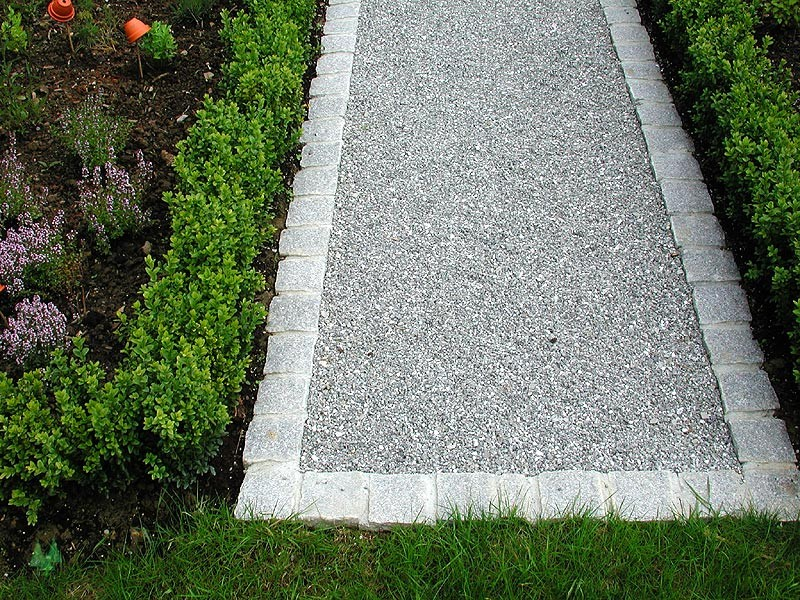 bordure en pave naturel