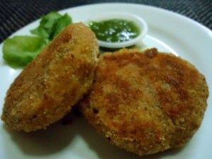 Aloo-Potato Cutlet