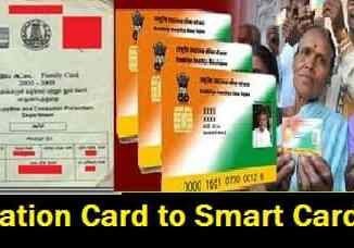Ration Card-Smart card