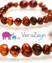VeraZeyn – Kehribar Bebek Diş Kolyesi