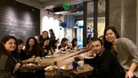 Django Girls İstanbul 19 Mart etkinliği Hipo'nun harika ofisinde kahvaltı