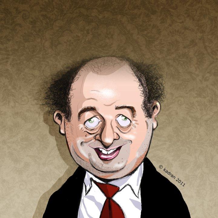 Jack Villeret caricature