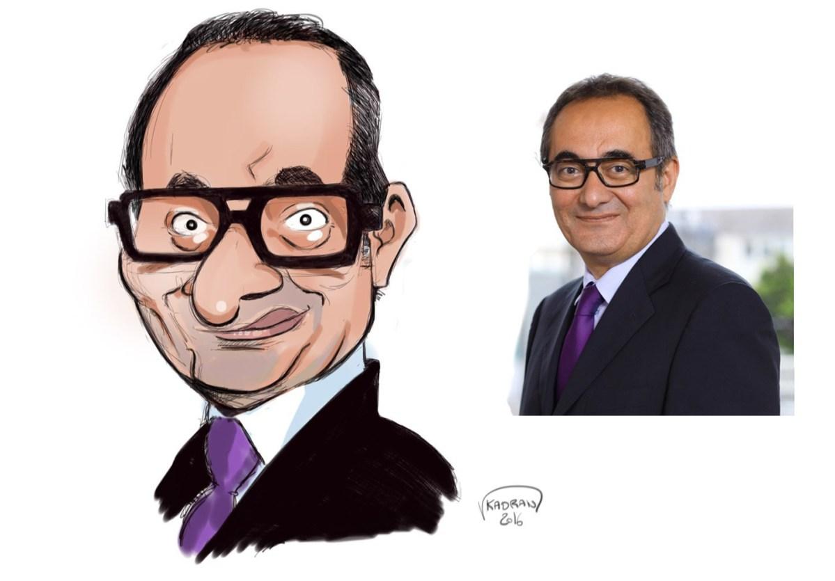 Mesut Yentur caricature sketch
