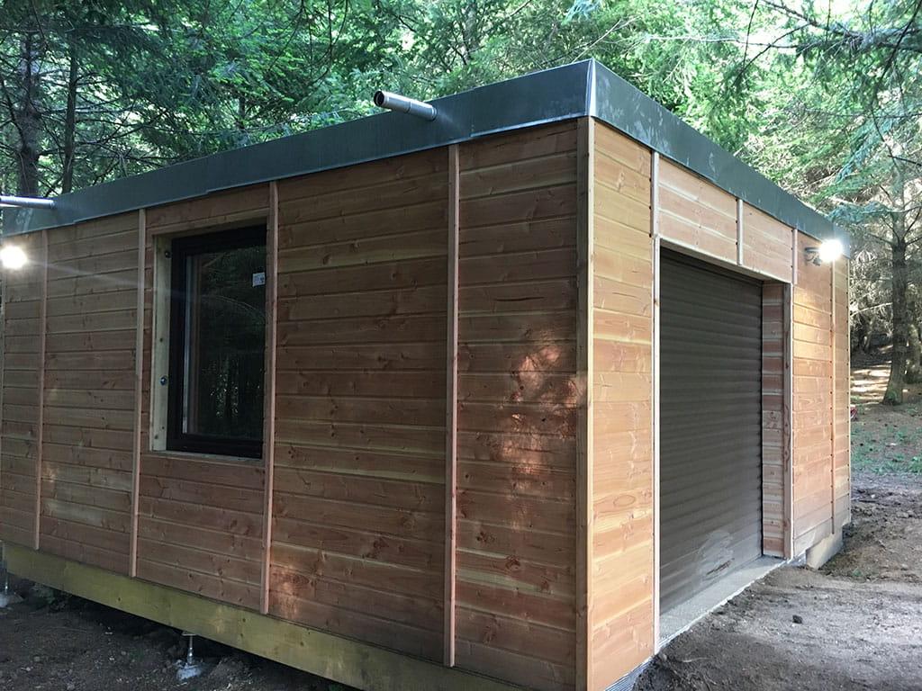 Autoconstruction D Un Garage Ossature Bois Utilisez Kadro