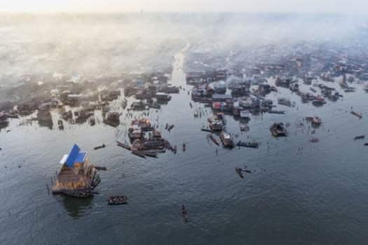 Floating School, Makoko Nigeria, Architect Kunle Adeyemi, NLE,
