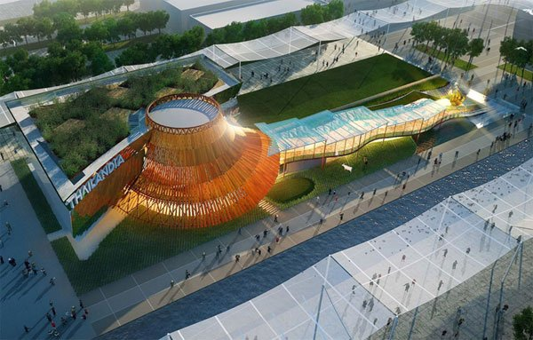 Winning Design of Thai Pavilion for 2015 Milan Expo,milan expo, expo 2015, architecture, winning desing, Office of Bangkok Architects, oba