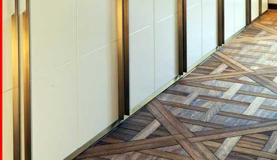 Woven-Timber-Flooring, creative inexpensive flooring ideas, cheap flooring,