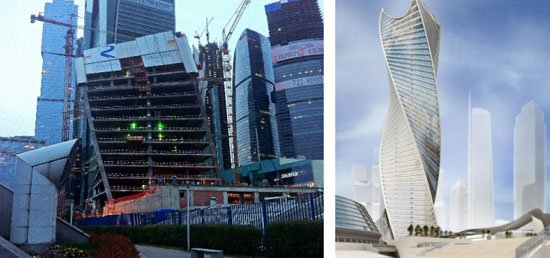 evolution tower moscow, CITY PALACE TOWER, MOSCOW, RUSSIA,