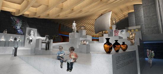 Argo Museum Volos Greek, interior-view,
