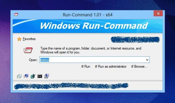 Very useful Run Commands shortcut for Open Programs