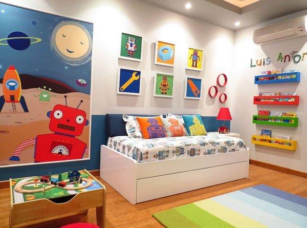 multifunctional bedroom ideas, monochromatic color scheme, home decorating ideas,