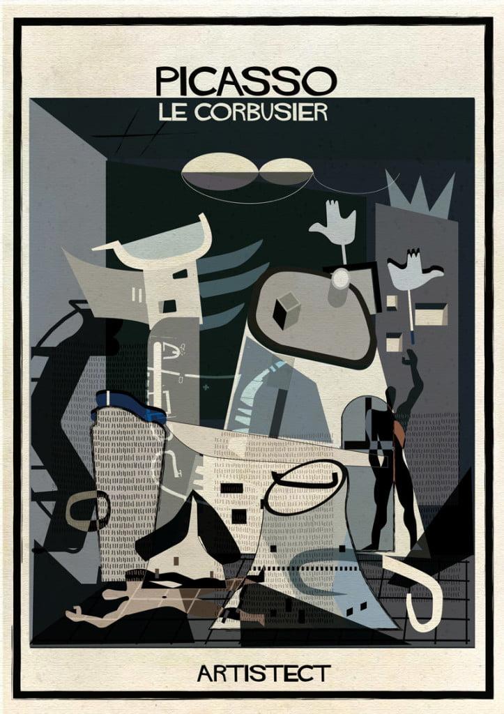 picasso-Le-Corbusier-federico-babina