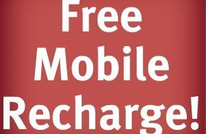 free mobile recharge,
