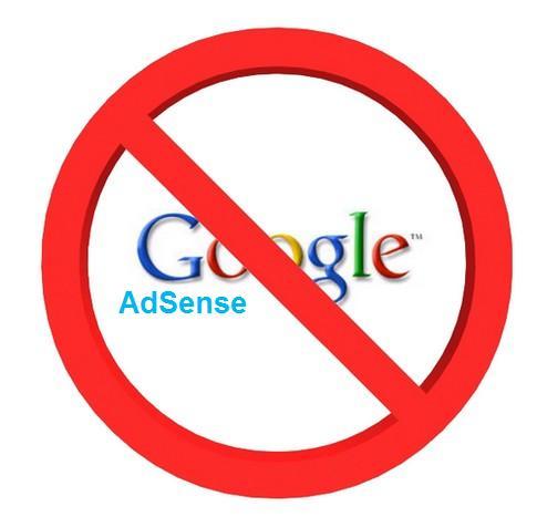 Banned By Google Adsense,