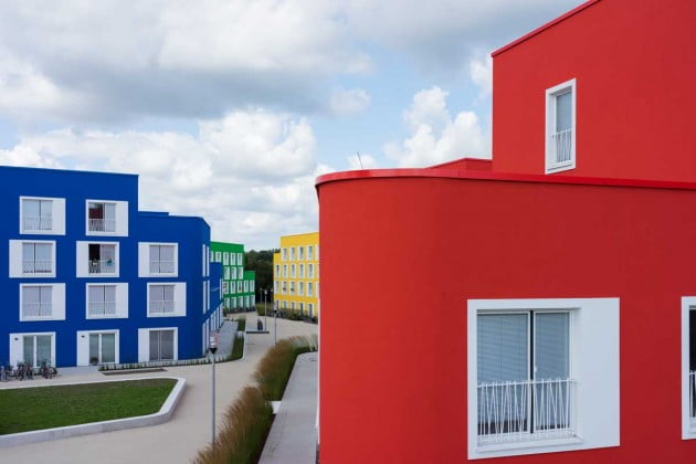 Bold and Beautiful Designs of Council and Student Housing in Munster, Germany by Kresings GmbH-4