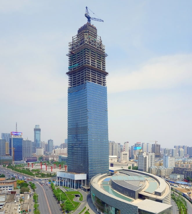 Forum 66 Tower 2 in Shenyang, Tallest Building, tallest building in the world, tallest building in the world under construction, tallest building in the india, future tallest building in the world, tallest building in world under construction, upcoming tallest building in the world, thinnest building in the world,
