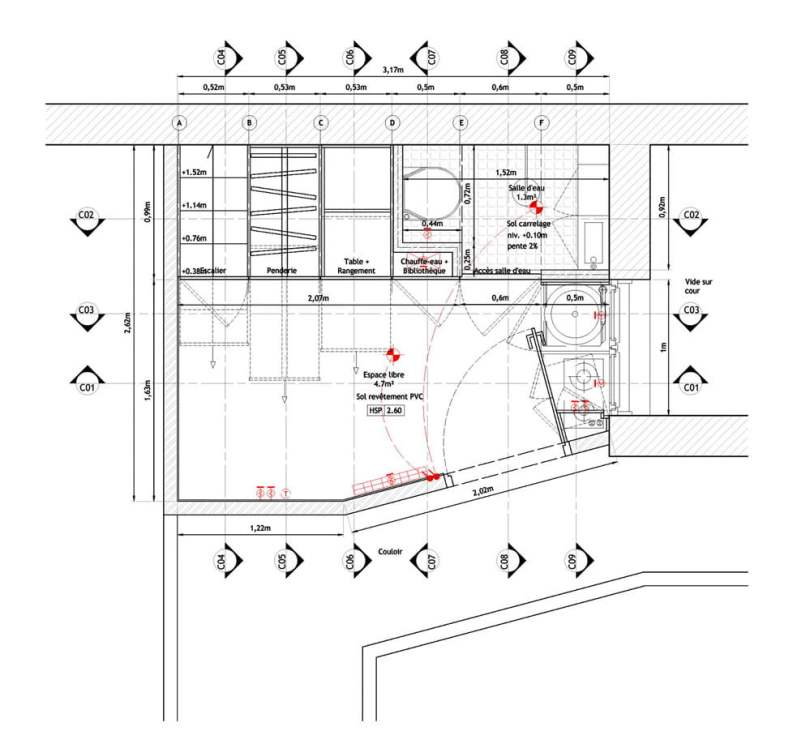compact interior, design,