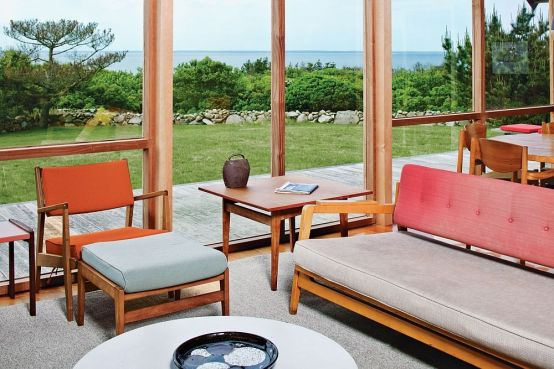 This Summer Retreat Modern Design actually Built back in 1967 (5)