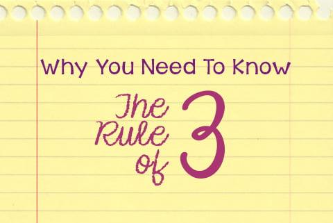 rule of three,