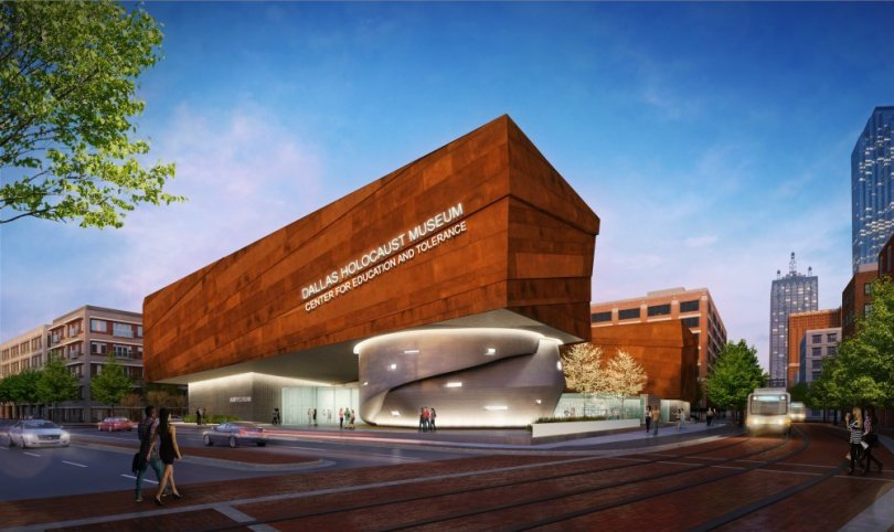 holocaust museum architecture,