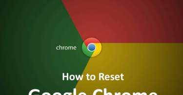 Reset browser settings,