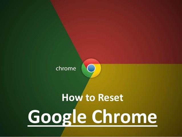 Reset browser settings,