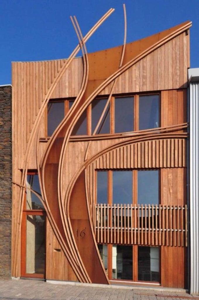 modern art nouveau architecture design,