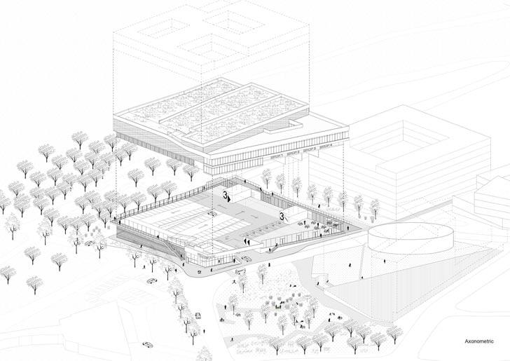 Transferium - A Multi Story Car Park of Bircham Park by S333 Architecture (12)
