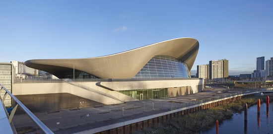 London Aquatics Centre,