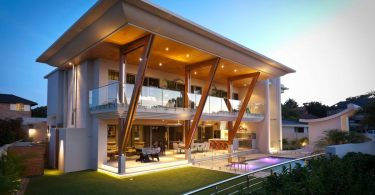 Cantilever Balcony And Roof, striking tools, roofing panels, metal roofing panels, corrugated metal, skylights, modern home,