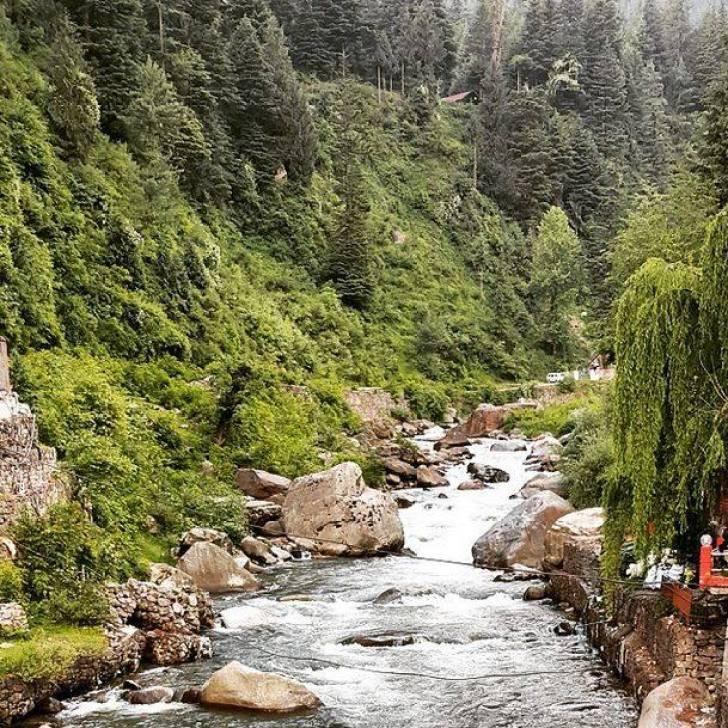 Beas River, Manali, Himachal Pradesh