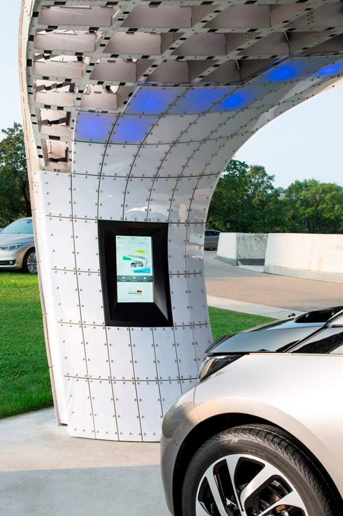 EIGHT installs solar powered fast-charging station at BMW welt 5