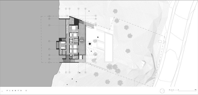 Hill Side House,