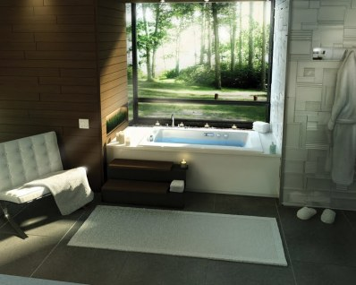 cool bathrooms vanities with modern bath tubs collection 5