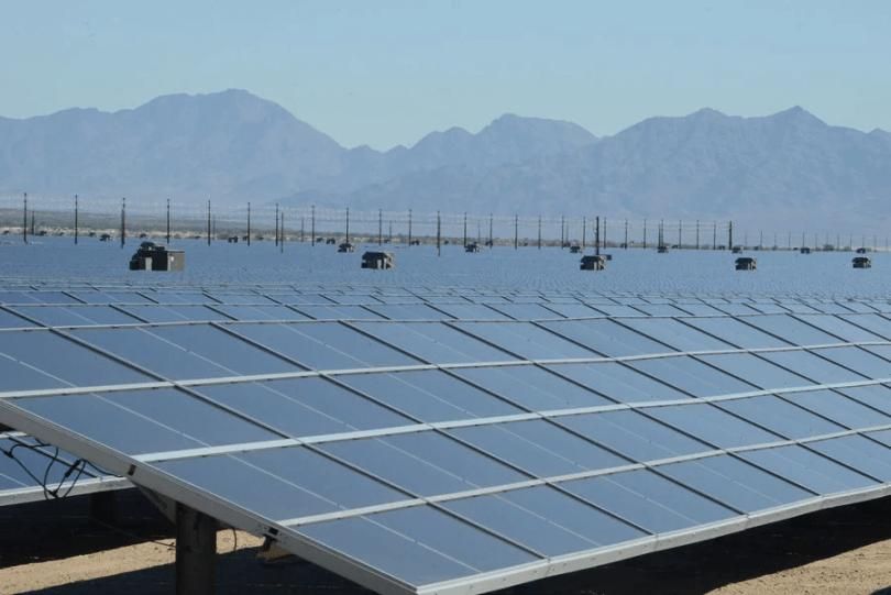 largest solar power plant,