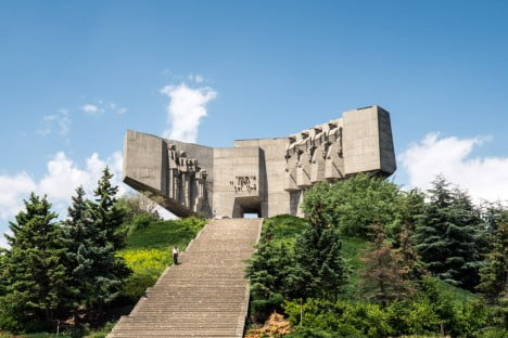 Examples Of Brutalist Architecture Monument of the Bulgarian-Soviet Friendship, Varna, Bulgaria