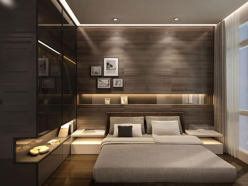 contemporary wengey tough in bedroom decoration design