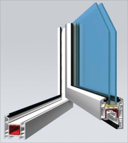 AD50 Casement Window (Inwards Opening) System
