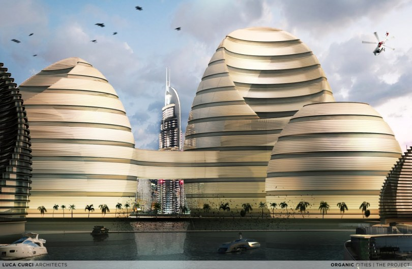 Organic Cities For Persian Gulf skyline By Luca Curci Architects Studio (10)