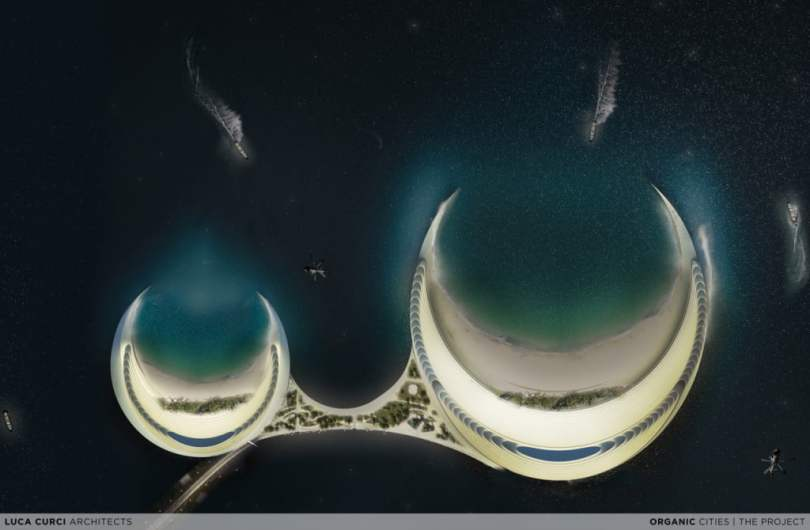 Organic Cities For Persian Gulf skyline By Luca Curci Architects Studio (12)