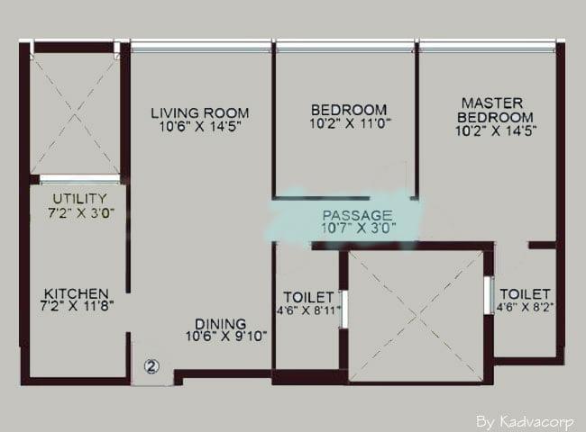 2 bedroom apartments,