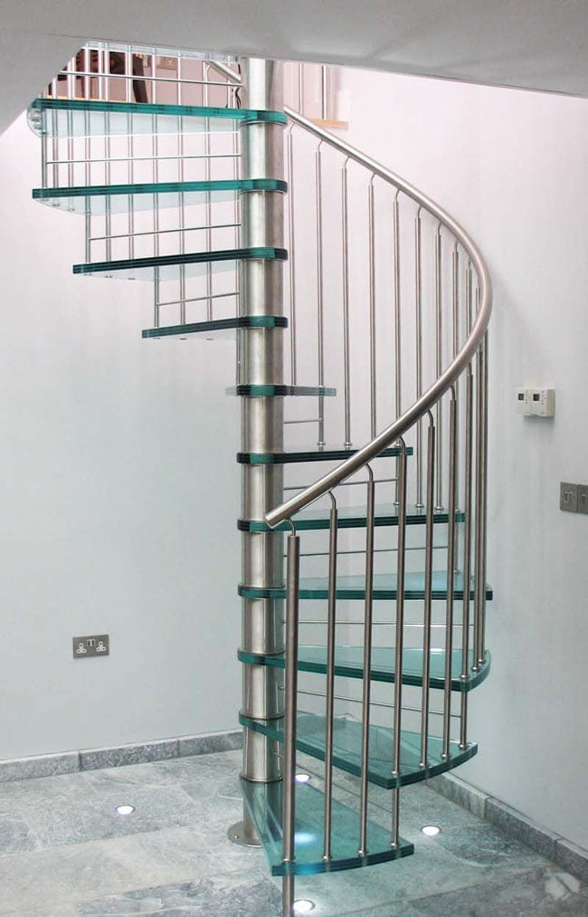 Glass-steel-Spiral-Staircase-Design