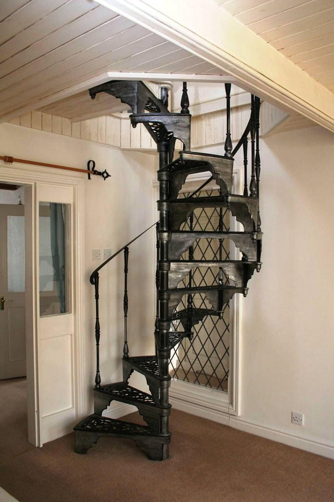 Spiral staircase,